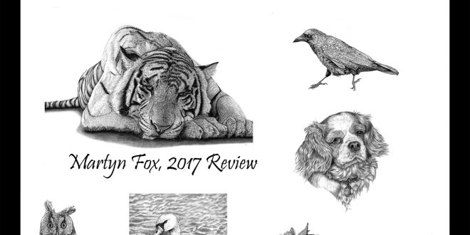 2017 – A Year in Graphite.